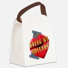 DOINGMYFRIENDS---I-LOVE Canvas Lunch Bag