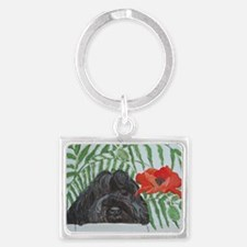 Ruby Red 4x6 Landscape Keychain