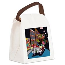 Halsted Street Canvas Lunch Bag