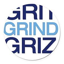 gritgrindgriz Round Car Magnet