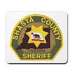 Shasta County Sheriff Mousepad