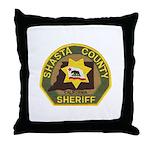 Shasta County Sheriff Throw Pillow