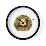 Shasta County Sheriff Wall Clock