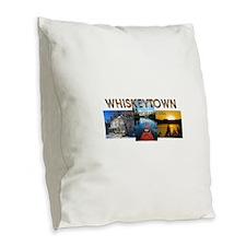 Rand Paul 2016 Burlap Throw Pillow