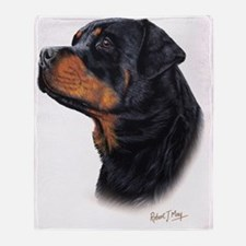 Rottweiler 3 Throw Blanket