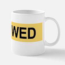 Just Wed 5 copy Mug