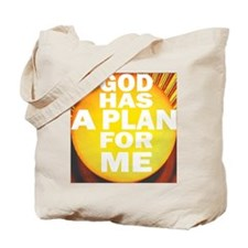 At Birth- there was a PLAN. Tote Bag