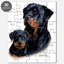 Rottweiler  Pup Puzzle