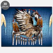 Wall Peel Flying Hawk Puzzle