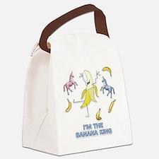 Charlie-D10-WhiteApparel Canvas Lunch Bag