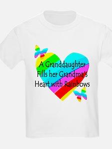 #1 GRANDDAUGHTER T-Shirt