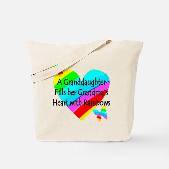 #1 GRANDDAUGHTER Tote Bag