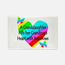 #1 GRANDDAUGHTER Rectangle Magnet