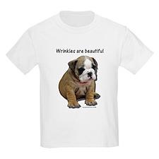 Wrinkles Are Beautiful II Kids T-Shirt