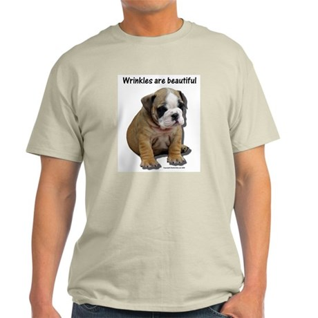 Wrinkles Are Beautiful II Ash Grey T-Shirt