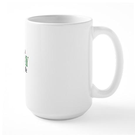 Prudhoe Bay Lat-Long Large Mug