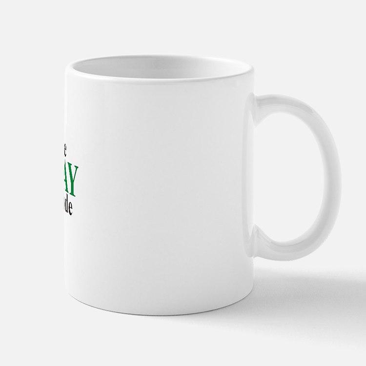 Prudhoe Bay Lat-Long Mug
