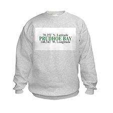 Prudhoe Bay Lat-Long Sweatshirt