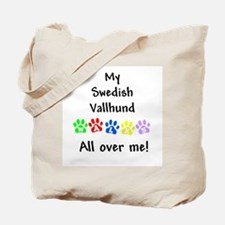 Vallhund Walks Tote Bag