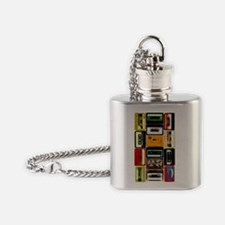 cassette group - press Flask Necklace