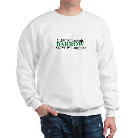 Barrow Lat-Long Sweatshirt
