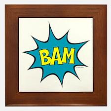 Bam-lg Framed Tile
