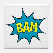 Bam-lg Tile Coaster