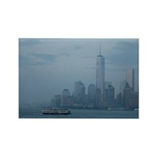 Manhattan from the Staten Island  Rectangle Magnet