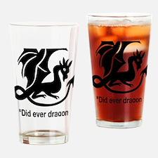 Romeo-Quote-Large-dark Drinking Glass