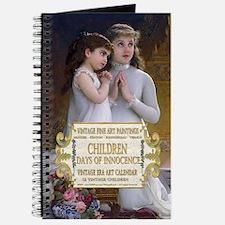 1 A VINTAGE CHILDREN- MUNIER 2GirlsPraye  Journal