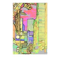 sanf_solar_pink_iPad Postcards (Package of 8)