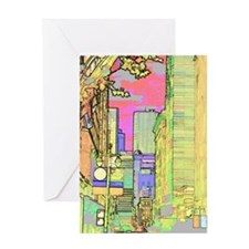 sanf_solar_pink_iPad Greeting Card