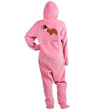 ColorSaint Footed Pajamas