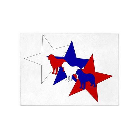 PatrioticSaints 5'x7'Area Rug