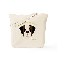 MeetMyNannySaint Tote Bag