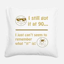BdayAmnesia90 Square Canvas Pillow