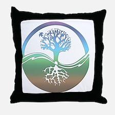 treenearth Throw Pillow