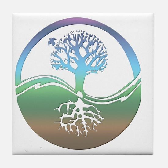 treenearth Tile Coaster