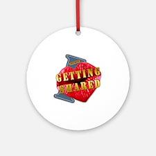 GETTINGSHARED---I-LOVE Round Ornament
