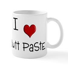 19-A-IT-W I Love Butt Paste Mug