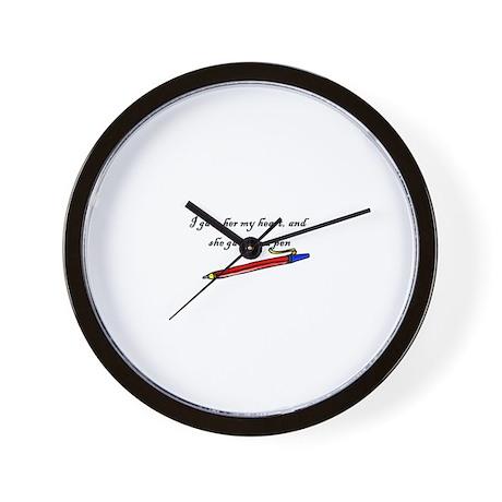 Good Cool Kitchen Clocks Part - 7: Lloyd Dobler2 Wall Clock