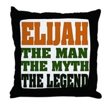 ELIJAH -the legend Throw Pillow