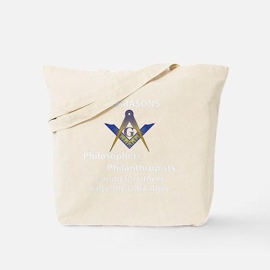 Mason care BLK copy Tote Bag
