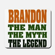 BRANDON - the legend Mousepad