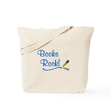 Books Rock Tote Bag