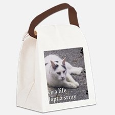 Adopt a Stray Canvas Lunch Bag