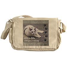 ronan square Messenger Bag