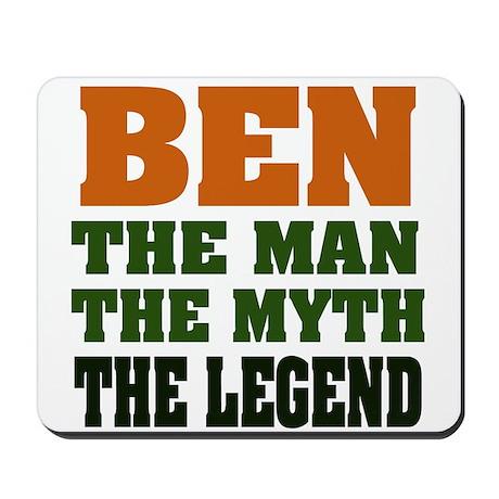 BEN -the legend Mousepad