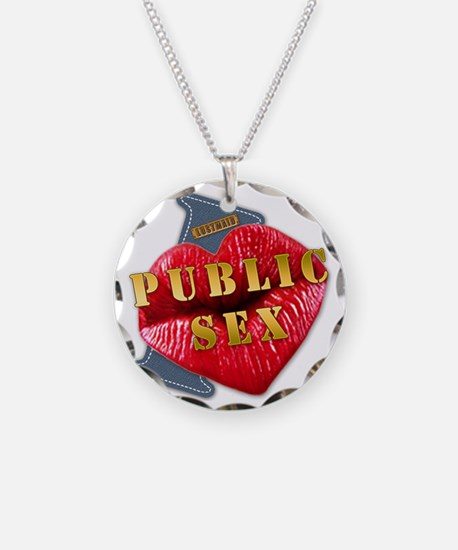 PUBLICSEX---I-LOVE Necklace