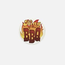 King Of The BBQ Mini Button